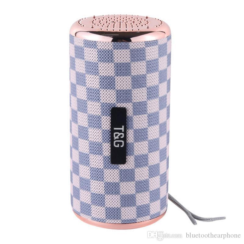 Wireless Bluetooth 4.2 Stereo Speaker Super Bass Column 10W Hifi Soundbox outdoor portable speaker with TF SD card playback function