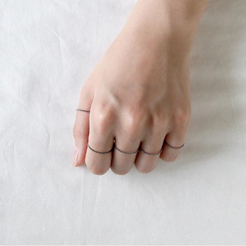 Чистое серебро 925 пробы мужские и женские кольца простые изящные кольца ювелирные изделия