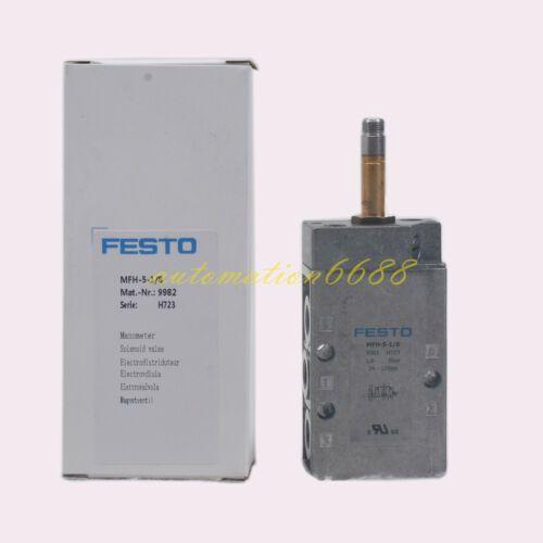 Festo Solenoid Valve MFH-5-1/8 9982 new westso88