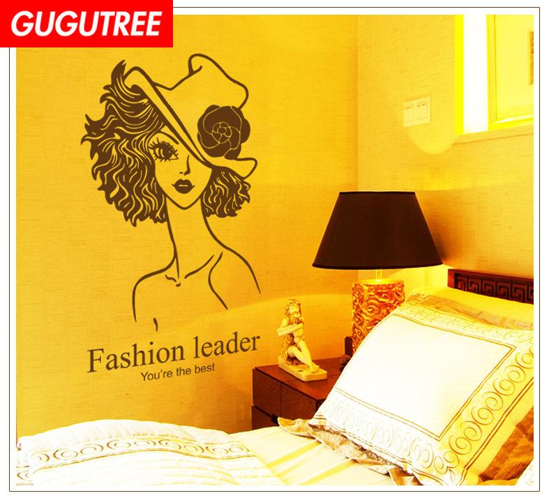 Decorate Home girl belle cartoon art wall sticker decoration Decals mural painting Removable Decor Wallpaper G-2292