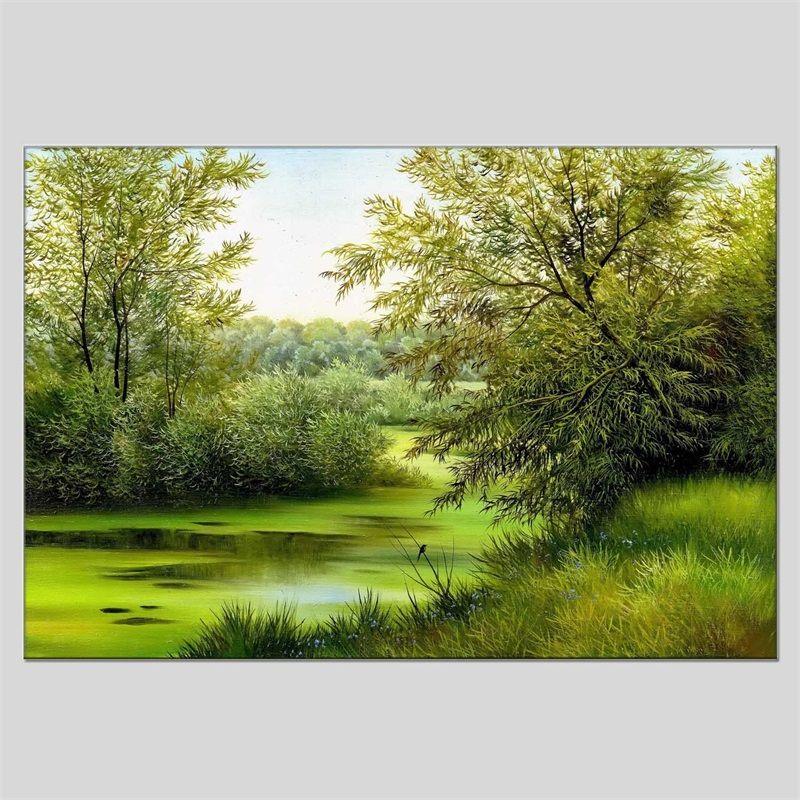 Хуа Туо Пейзажная живопись масляными красками 60 х 90 см HT-1170539