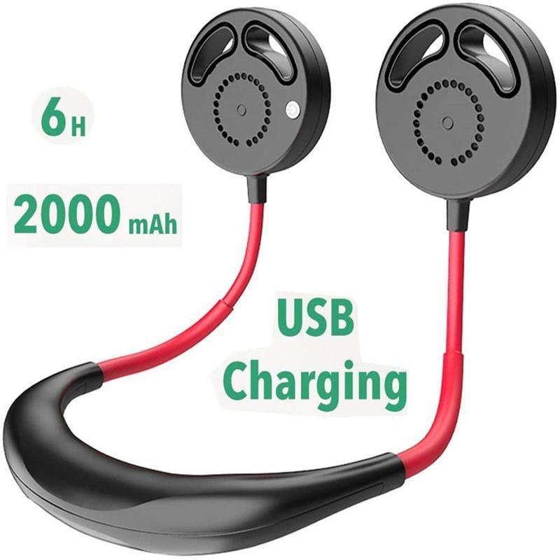 Personal USB Fan Home Office Electric Mini Portable Adjustable Wind Speed Desk Bladeless Fan for Household Office UK Plug White