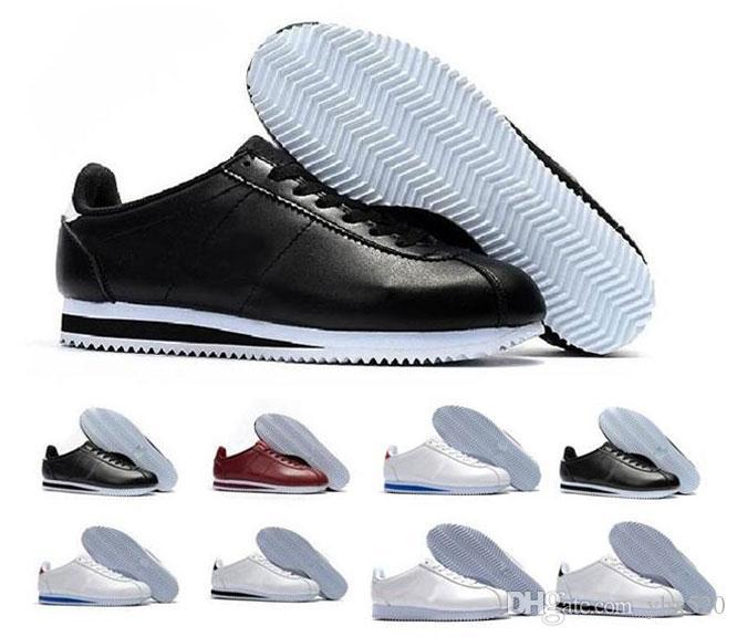 Unisexe EUR 36-44 Outdoor Femmes Hommes Sports Chaussures Baskets Sneakers Cortez Ultra moiré Skateboard Chaussures de marche Noir Rouge Noir
