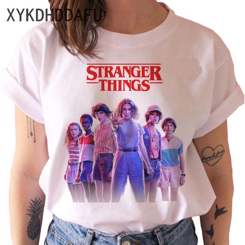 Stranger Things Saison 3 T-shirt d'hommes / femmes Upside Down Eleven T-shirt Homme T-shirt graphique Haut T-shirt drôle Vêtements Harajuku