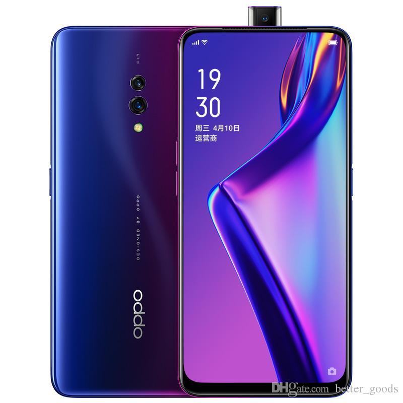 "Original Oppo K3 4G LTE Cell Phone 6GB RAM 64GB ROM Snapdragon 710 Octa Core 16.0MP AI 3765mAh Android 6.5"" AMOLED Full Screen Fingerprint ID Face Smart Mobile Phone"