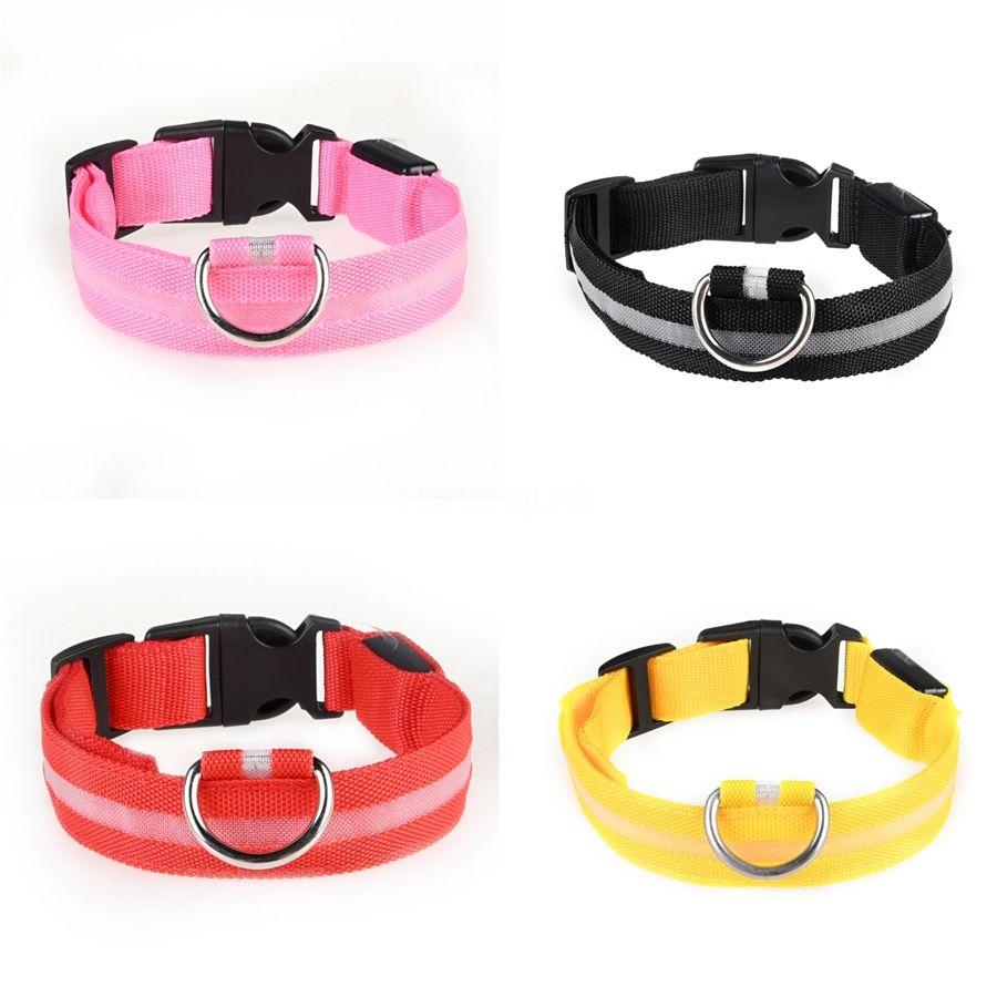 New colorida Corda Canvas Coleiras Alloy Dog Buckle Pet Coleiras Transfronteiriça Pet Shop Wy479 # 909