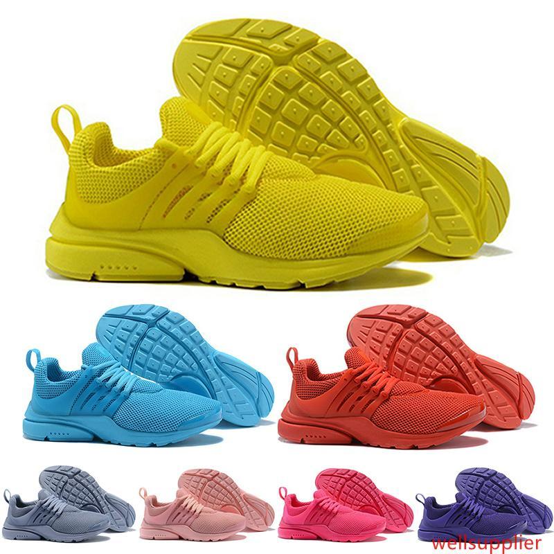 Лучший PRESTO 5 BR QS Мужчины Женщины кроссовок Oreo Желтый Фиолетовый Розовый Balck кроссовки дизайнер Walking кроссовки 36-46