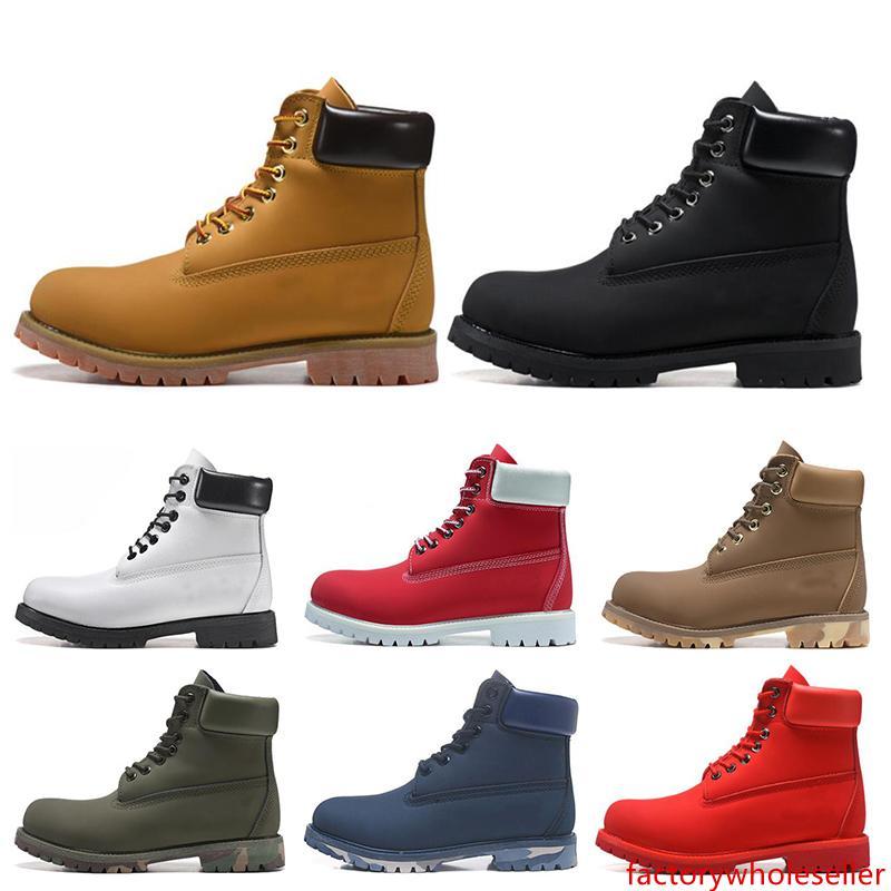 New TBL botas designer de luxo para qualidade botas mens inverno top mulheres Militar Triplo Branco Preto Camo tamanho 36-45