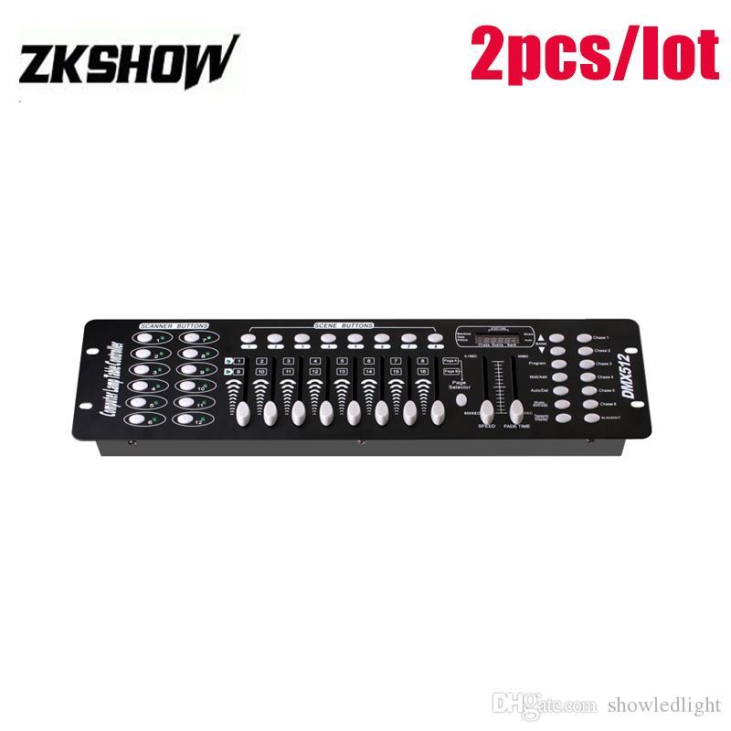 80% di sconto 192 DMX Controlador Controller DJ Console vendite DMX512 illuminazione DJ LED Mini fase proiettore di trasporto