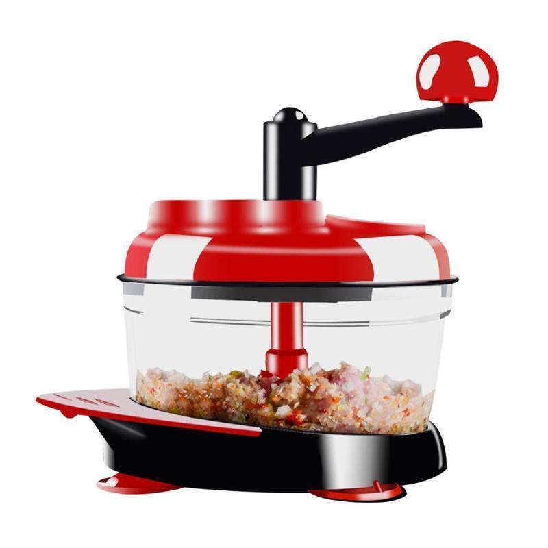 Household Manual Meat Grinders Garlic Machine Cutter Food Processor For Fruit Vegetable Meat Slicer Machine Kitchen Tool