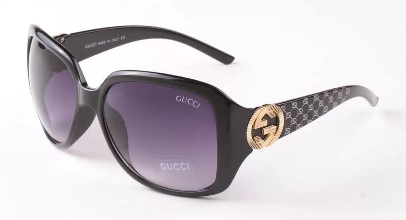 oeil lunettes de soleil grand cadre simple, les femmes classiques protection style UV400 lunettes en plein air