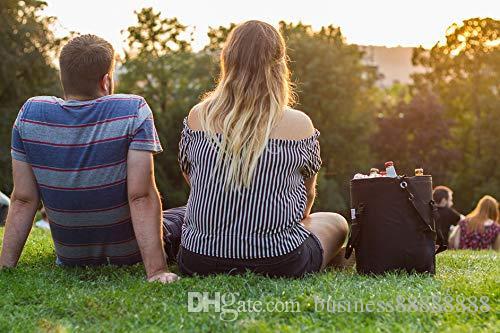 Picknick-Taschen-Frauen-Strap-Tasche übergroßen tragbarer Kühler - Bags Herren und Mittagessen Thermal Travel Totes - Schulter Larg mit ITVKD QFGee