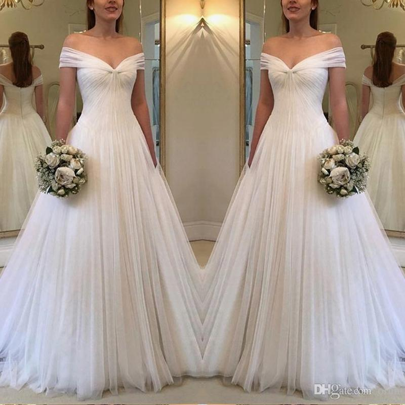 White Chiffon Ball Gowns