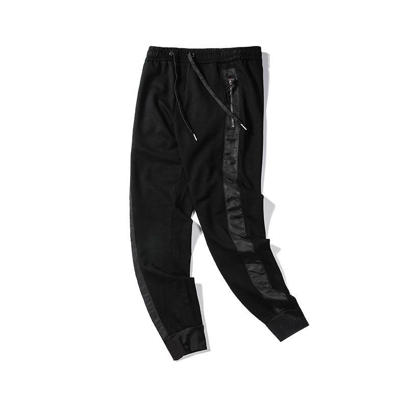 Nouvelle Arrivée Hommes Stylistes Pantalons Hommes Haute Qualité Styliste Pantalons Hommes Femmes Retro Sports Casual Black Joggergq