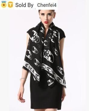 chenfei4 MTKV zhu VG Check Wool Cotton Cashmere Silk Scarves Scarf Wrap Shawl SHINE SCARF