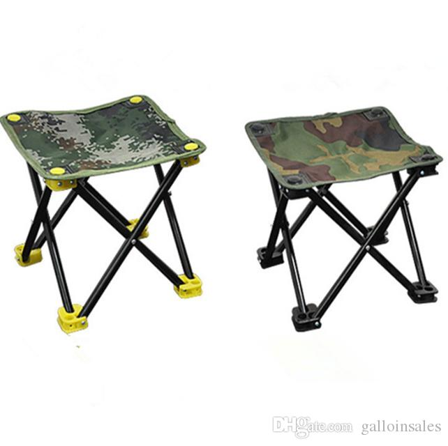 1pcs Aluminum Alloy Folding Chair Seat Stool Fishing Picnic Camping Hiking BBQ Beach Backpack Fishing Chairs with Carry Bag FCC001