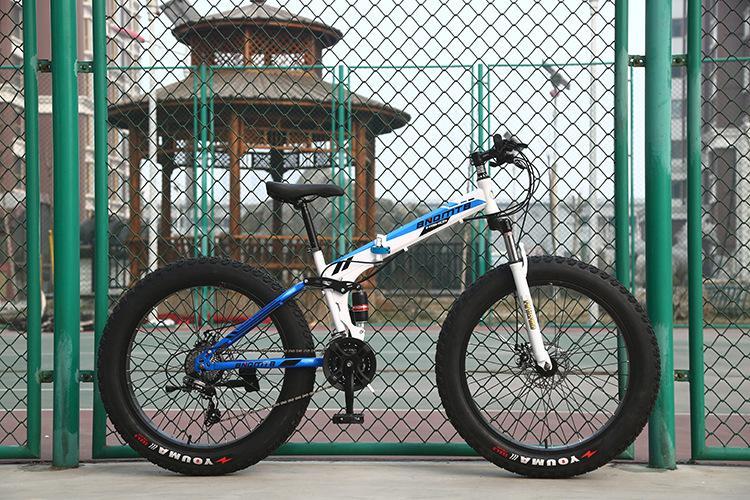 Pliant neige vélo doux Tail VTT adulte 4.0 large Fat Big Tire VTT Sortie vélo