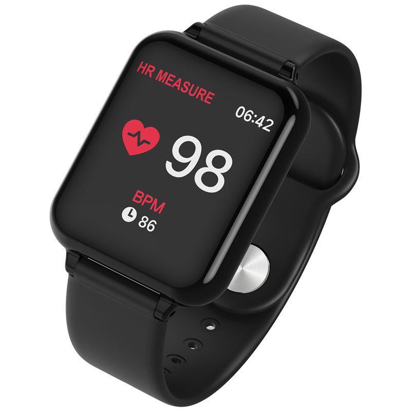 2019 الروبوت ساعة ذكية IP67 للماء شاشة ملونة IOS الساعات الذكية الهاتف الذكي سوار ذكي ساعة ذكية ضغط الدم