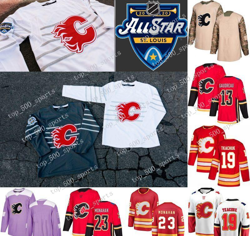 2020 2020 All Star Matthew Tkachuk Jersey Calgary Flames Mikael Backlund Johnny Gaudreau Mark Giordano Sean Monahan David Rittich Hockey Jerseys From Top 500 Sports 25 39 Dhgate Com
