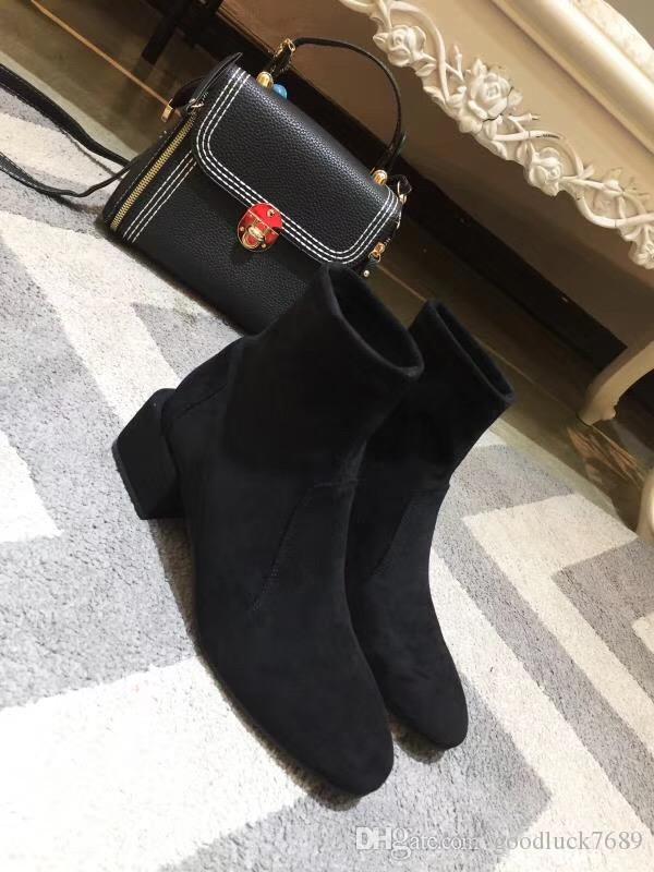 le plus récent Designer21short Bottes de haute qualité cuir véritable femme Bottes de neige de marque Casual Martin gros Mode confort en cuir souple