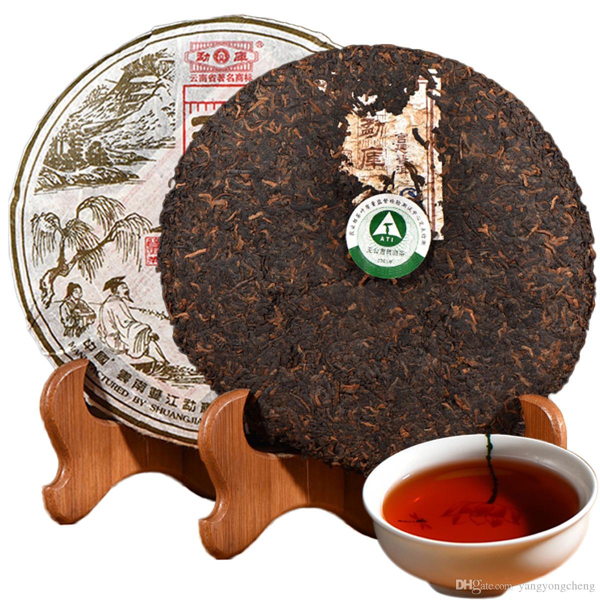 Cinese tè di Pu'er 400g Ripe Puer tè nero Mengku Palazzo Pu er Old Trees Puerh verde cibo cucinato Puerh sanità Puerh