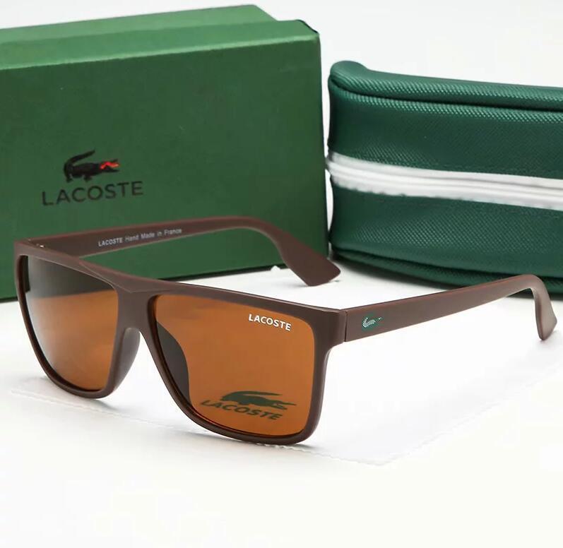 파리 패션 남성 여성 브랜드 비치 선글라스 UV400 방사선 보호 야외 선글라스 4 색 럭셔리 악어 태양 안경