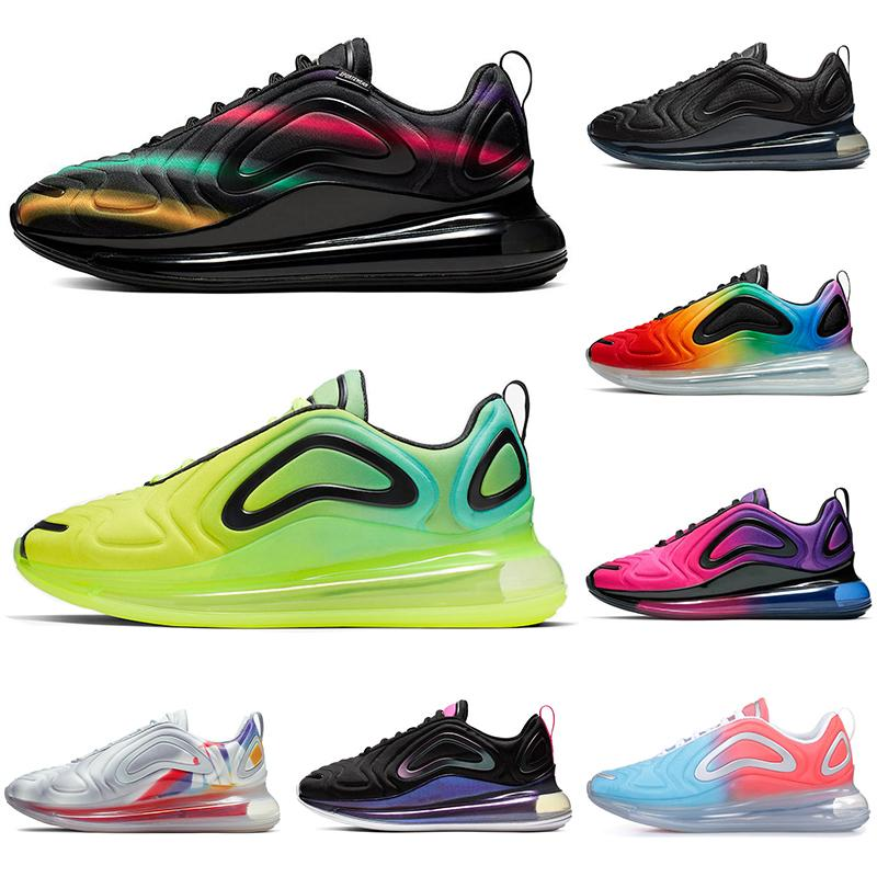 Multicolor New Running Shoes For Men Women Be True Pride Triple Black Sunset Volt Northern Lights Mens Trainers Sports Sneakers Runners