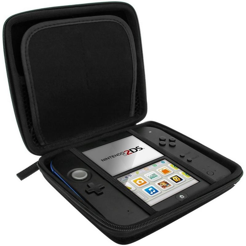Hot sale EVA Protector Hard Case and hard cover for Nintend o 2DS 2DS Game Card Shell 4 Colors Free shipping