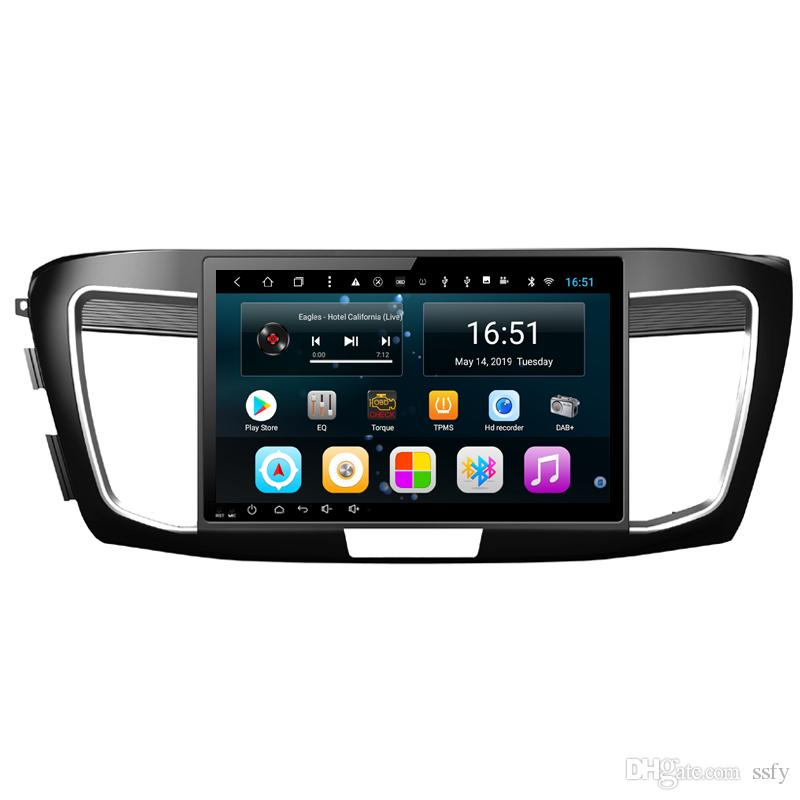 Android 10.1inch 8-core for Honda accord 9 2012-2018 Car Steering Wheel USB vidio HD1080 support you set any wallpaper Wifi Head Unit