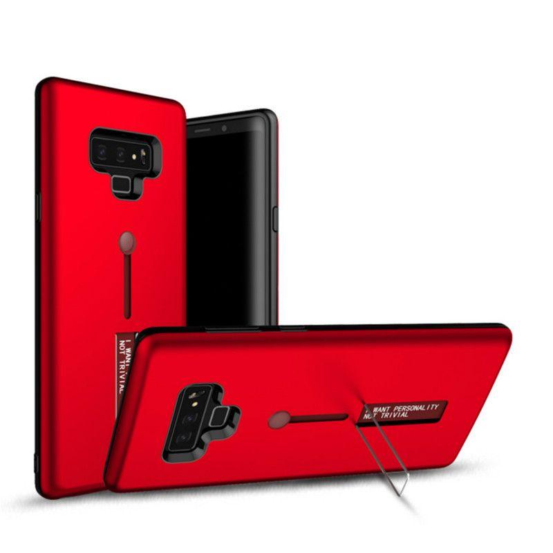 Mode ausblenden ring ständer halter telefon case für samsung galaxy s5 s6 s7 edge s8 s8 plus s9 s9 plus hinweis 8 9 stoßfest case ständer abdeckung