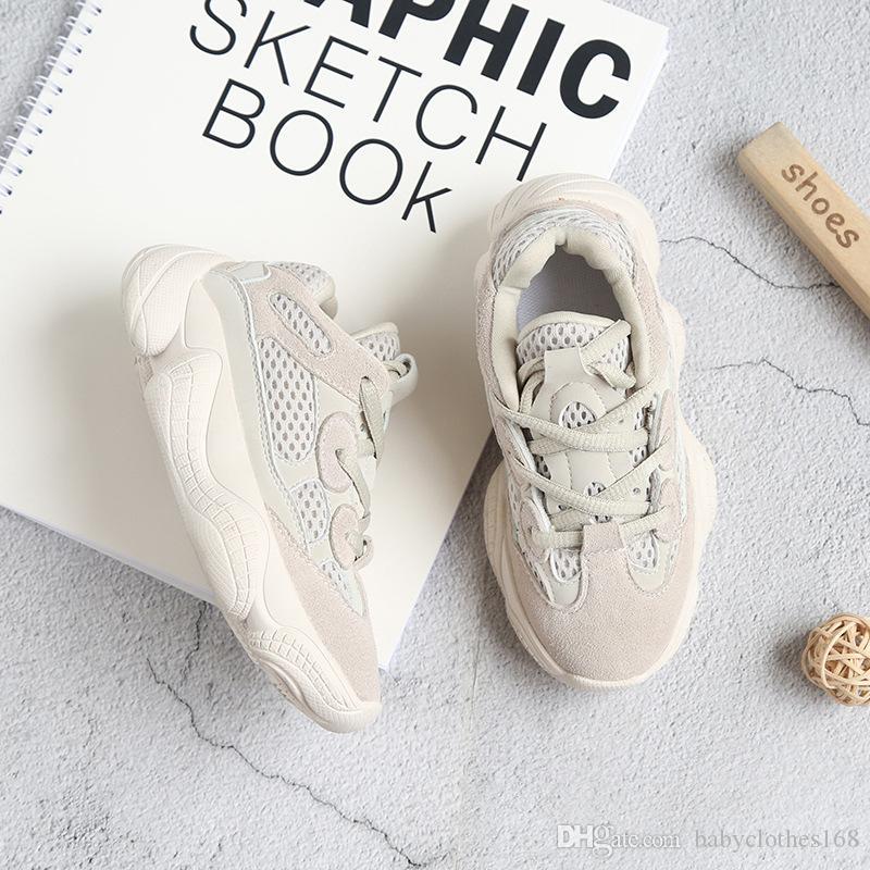 scarpe per bambini 500 Sneakers di funzionamento per i ragazzi e le ragazze comodo formato dei pattini di bambino 1-size 13