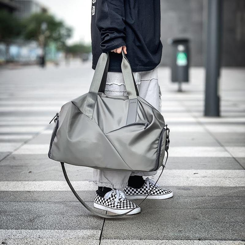 Спорт на открытом воздухе Фитнес Сумка спортивная сумка Перламутровые Мужчины Женщины Обучение сумки с ботинками Карманный водонепроницаемый йога обновления путешествия