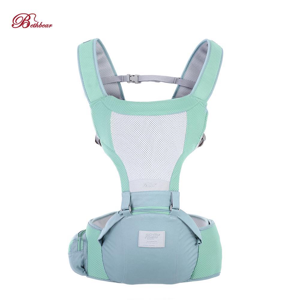 Bethbear recém-nascido fezes cintura 0-36 meses design ergonômico baby carrier infantil mochila sling assento do quadril 2019 q190529