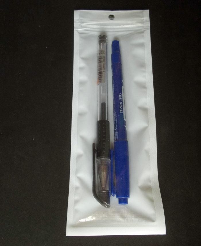 300pc / lot 7 * 20cm claro blanco Auto Mar cremallera de envases de plástico pp bolsa de polietileno, zip lock agujero de la caída del paquete bolsas