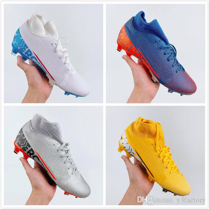 2020 13S elite 360 football shoes SG Designer leather Sneakers men Trainers sports male Spikes soccer shoes 39-45