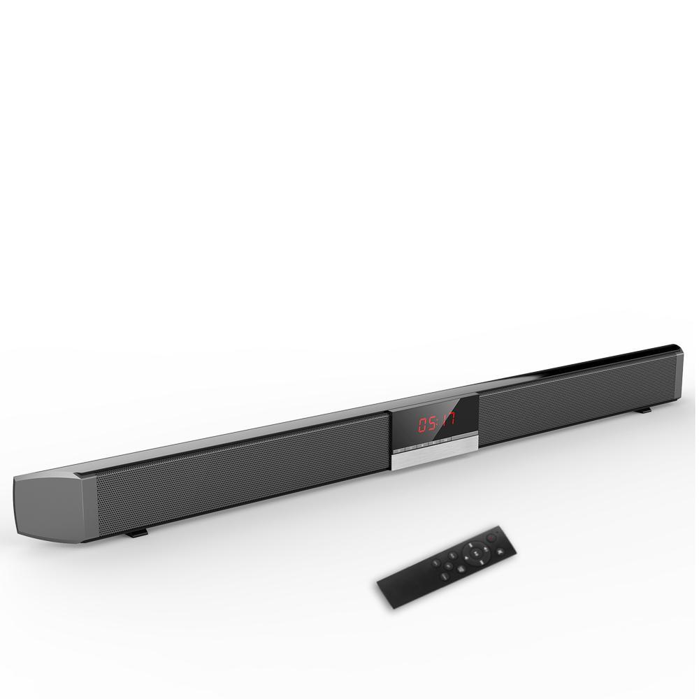SR100 Bluetooth Speaker 40W Home Theater TV Som Wireless Speaker Bar Coaxial Optical Home Cinema Subwoofer Alto-falantes + controle remoto