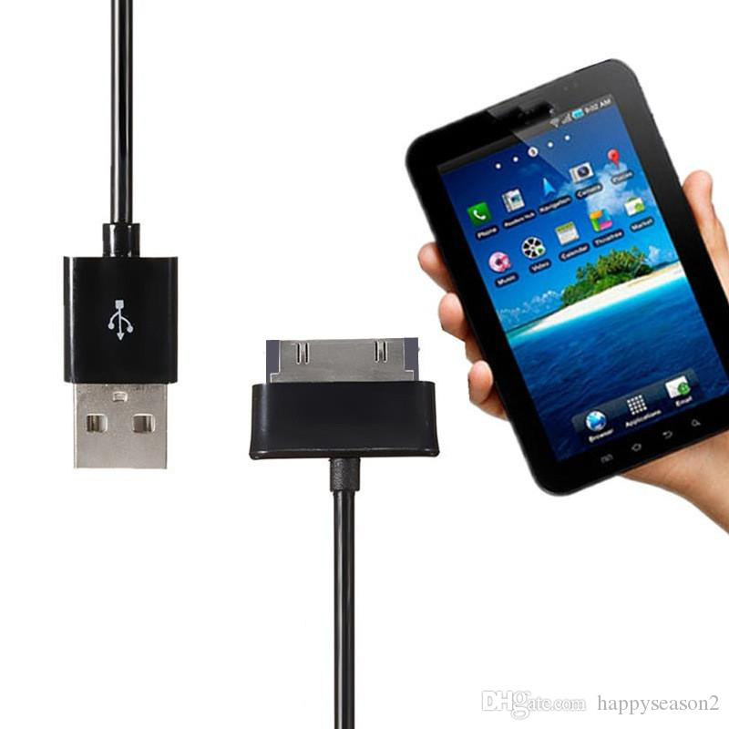 Cavo 1M 2M USB linea dati caricatore di ricarica cavo per Samsung Galaxy Tab 2 P1000 Tablet N8000
