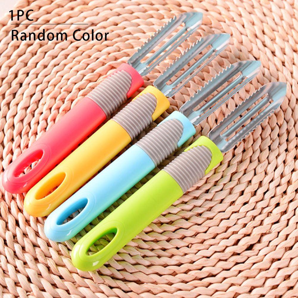 Anti Slip Peeler Fruit Slicer Cutter Gadget en acier inoxydable Outils de cuisine durable