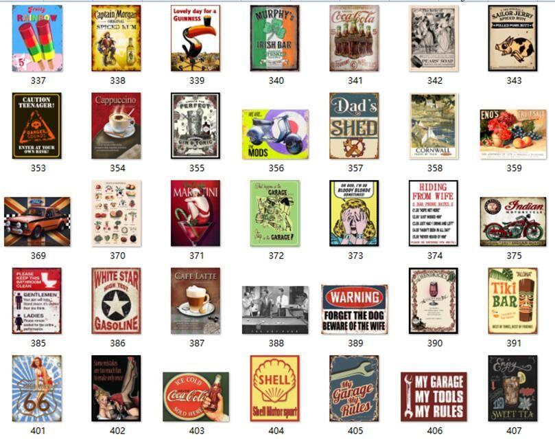 Sinais de metal do vintage pintura da arte da parede decoração sexy girls cartoon filme loja de cerveja motocicletas cartaz retro placa sinal da lata