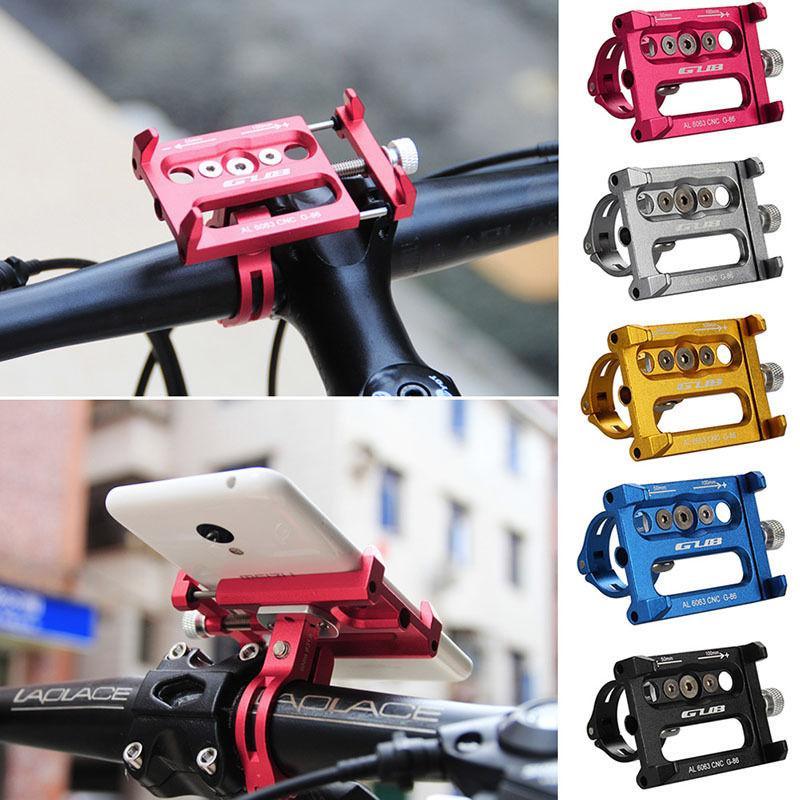 Metal Bisiklet Bisiklet Tutucu Motosiklet Kolu Telefon Dağı için iphone Cep Telefonu GPS