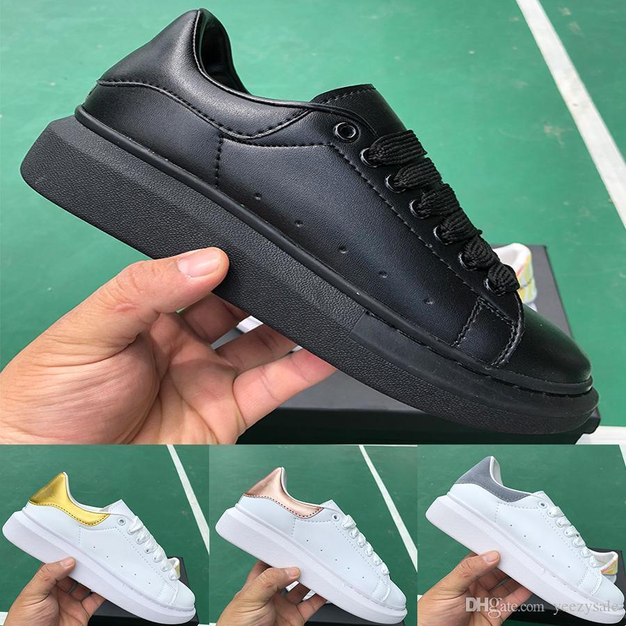 zapatos de los hombres la plataforma del diseñador de moda de lujo de triple negro blanco de la piel de serpiente marina de guerra aumentaron 3M zapatillas de deporte casuales de los hombres reflexivos terciopelo de las mujeres de oro