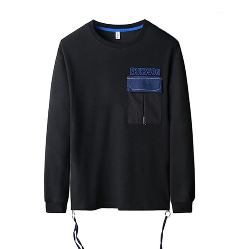 Tops With Zipper Casual Male Clothes Hiphop Designer Mens Sweatshirts Spring Long Sleeve O Neck Men