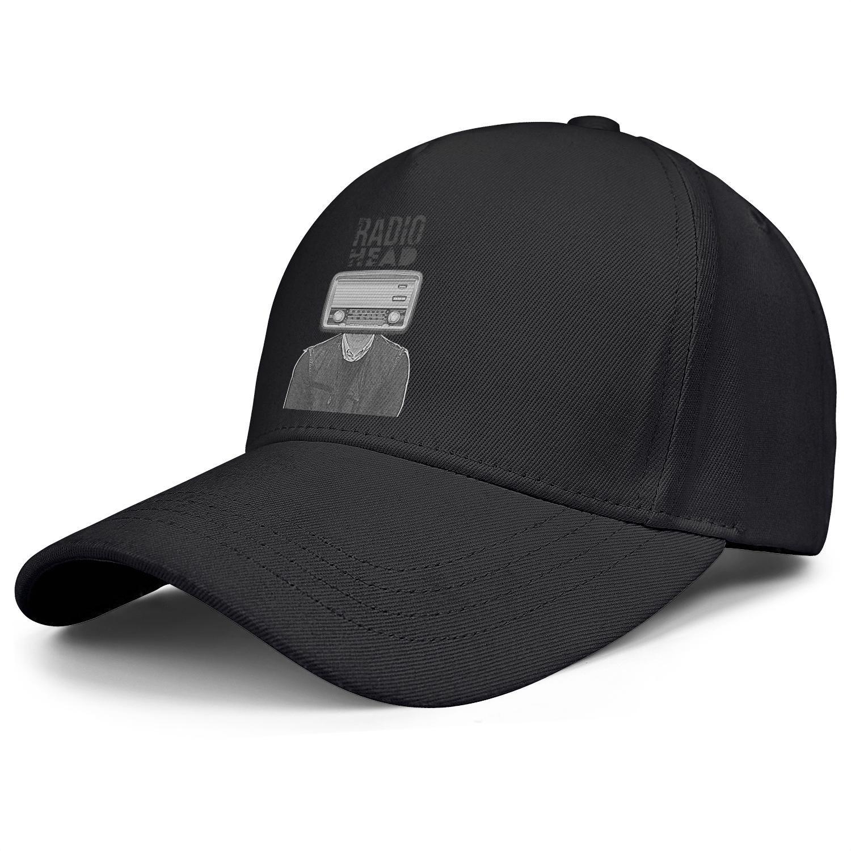 Radiohead albums songs live black mens and women baseball cap design designer custom sports fashion cute stylish original hats red ok