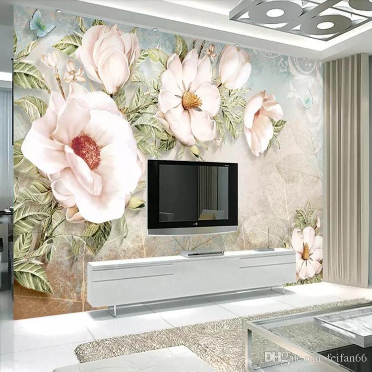 European 3d Tv Background Wall Simple Modern Wallpaper Movie Wallpaper 5d Three Dimensional Bedroom Wallpaper Chinese Mural Custom Wallpaper Designer