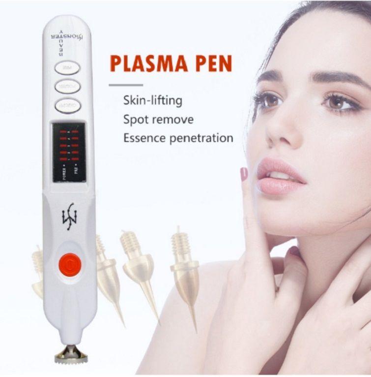 البلازما القلم Plamere 4 إبر MTS رئيس الحاجب رفع القلم / بقعة إزالة القلم / بلازما القلم التجاعيد جهاز إزالة الجمال في