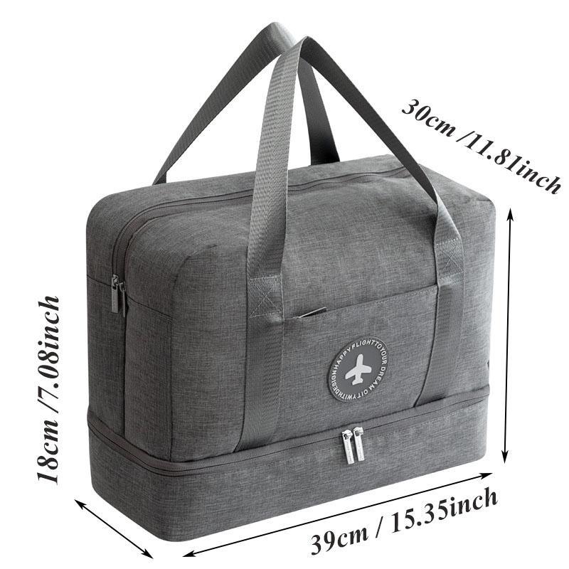 Складная дорожная сумка портативная упаковка большой емкости кубики одежда чемодан сумки водонепроницаемый мужской багаж организатор сумка