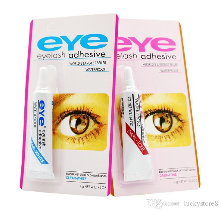 Wimpernkleber Wimpernkleber Schwarz und Weiß Makeup Wasserdicht Falsche Wimpern Kleber Kleberverlängerung GUT