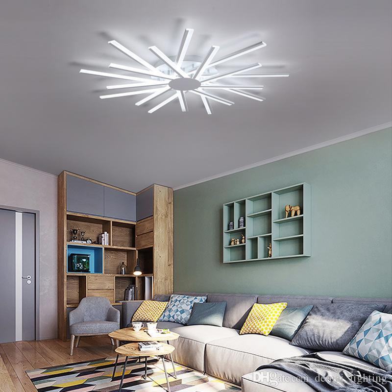 2019 hot sale. Led Ceiling Light LED Fixture Dimmable changeable cold white nature white AC85-265V For Home Decoration liveing Room