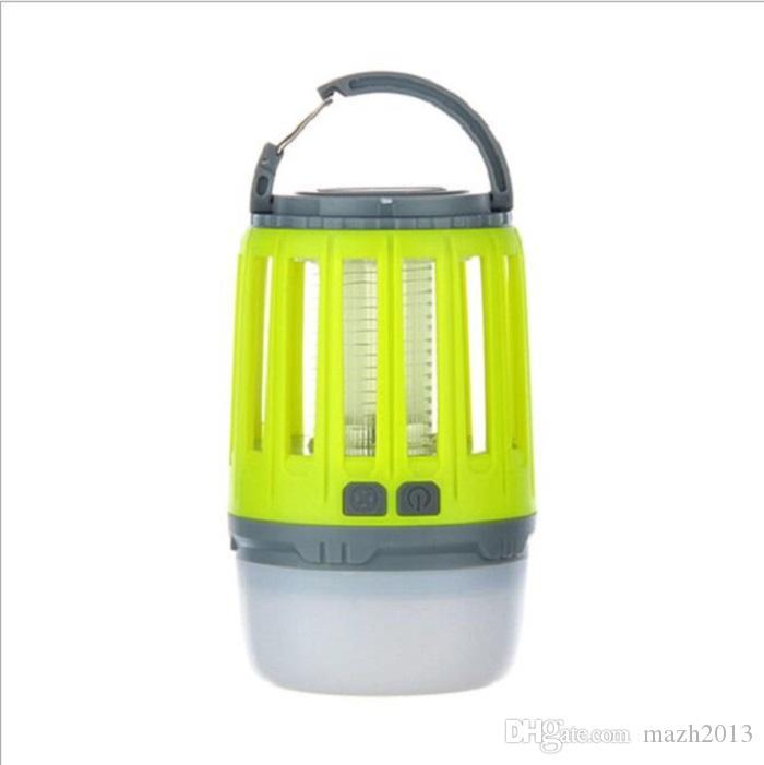 SXI открытый водонепроницаемый комаров убийца лампа кемпинг свет новый бренд многофункциональный бытовой немой зызлучательный перезаряжаемые кемпинг фонарь