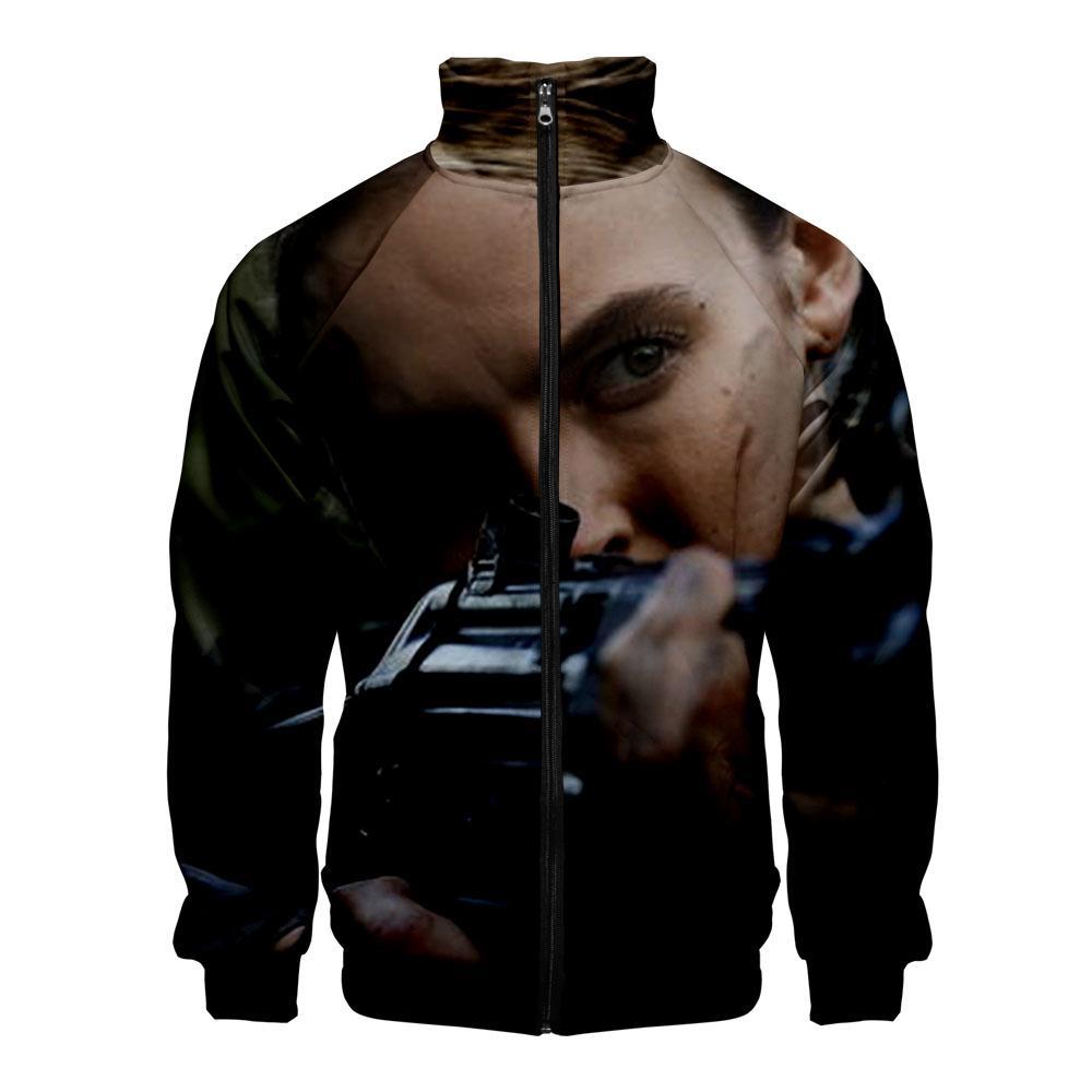 Канун убийства BBCAmerica сериал воротник на молнии с длинным рукавом Kakarot повседневная куртка мужская стойка воротник верхняя куртка пальто класса люкс